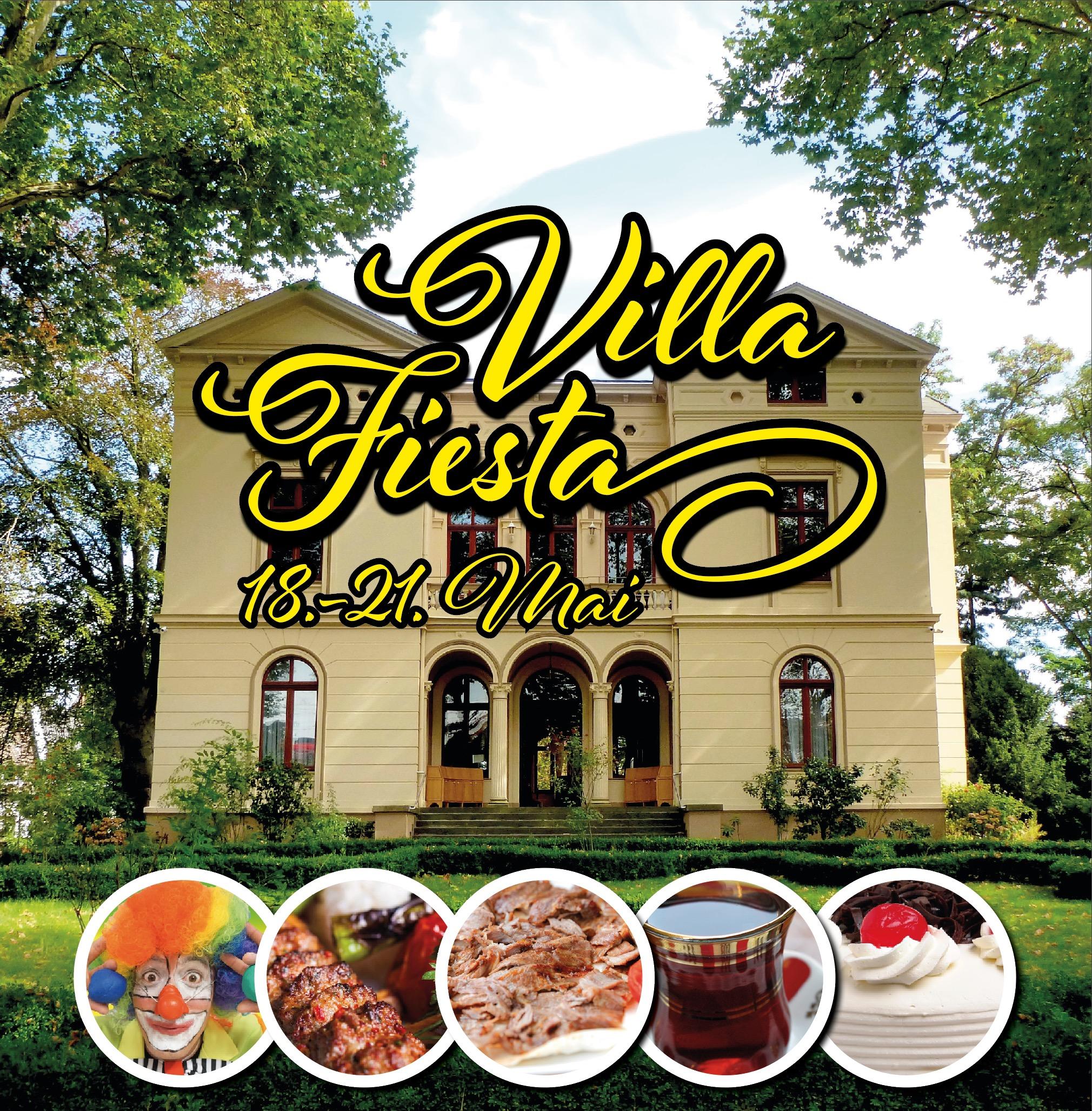 """"""" Villa Fiesta 2017 - Interkulturelles Fest vom 18.05.2017 bis 21.05.2017 """""""